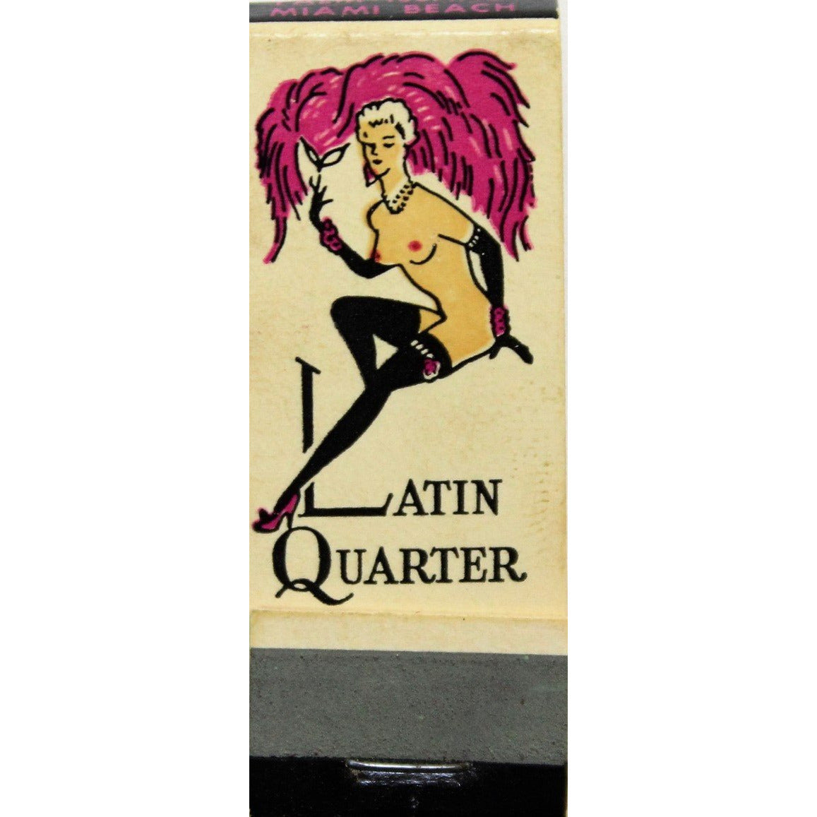 The Latin Quarter Nightclub Matchbook