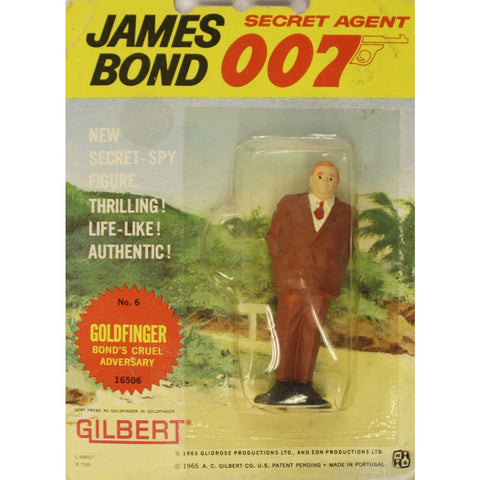 """James Bond No. 6 Goldfinger: Bond's Cruelest Adversary"" c1965"
