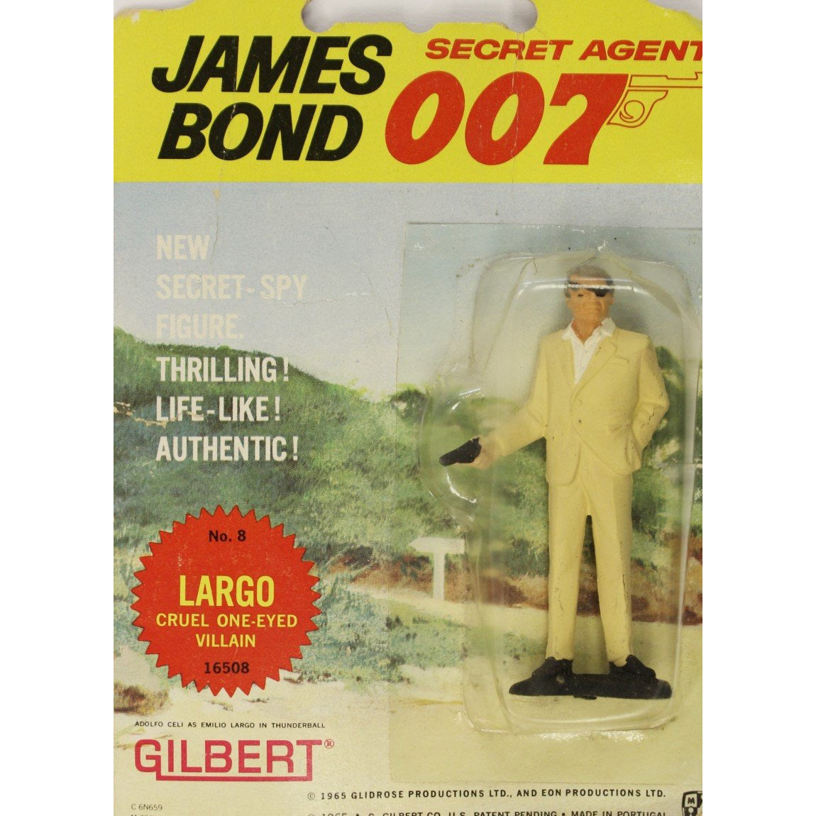 James Bond No. 8 Largo: Cruel One-Eyed Villian