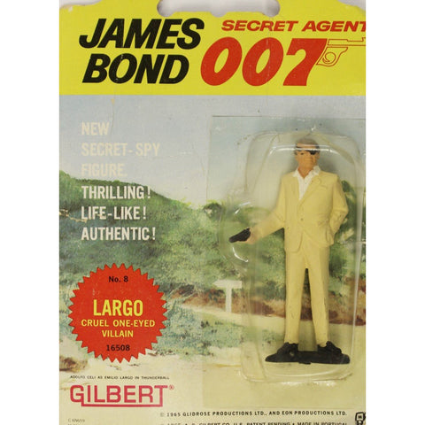 """James Bond No. 8 Largo: Cruel One-Eyed Villian"" c1965"