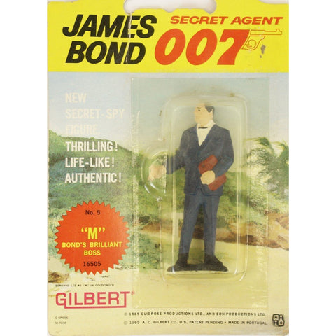"""James Bond No. 5 'M' Bond's Brilliant Boss"" c1965 by Gilbert"