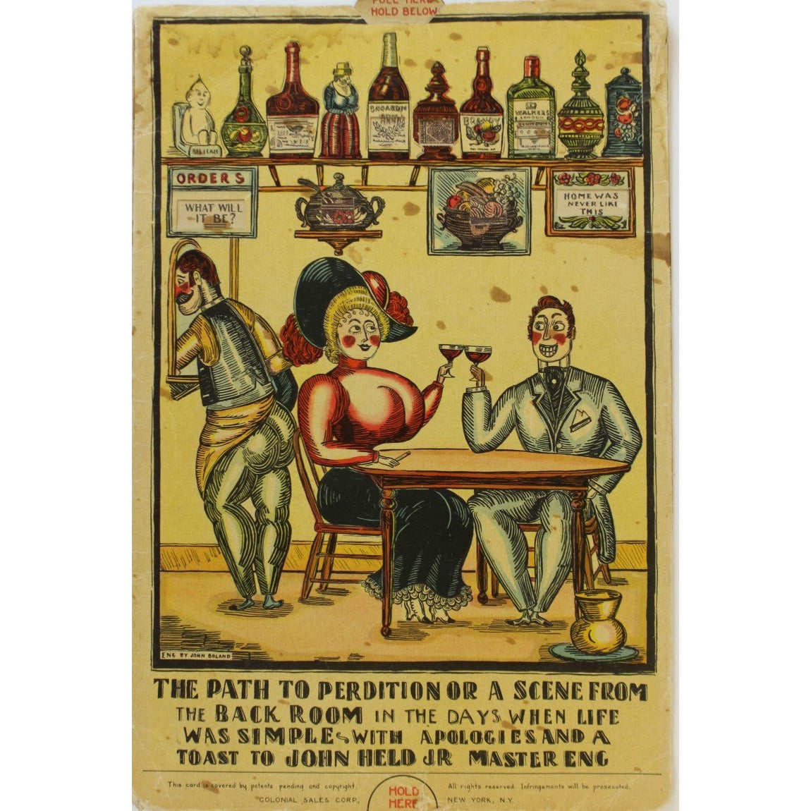 40 Famous Cocktails By John Held Jr. Pamphlet