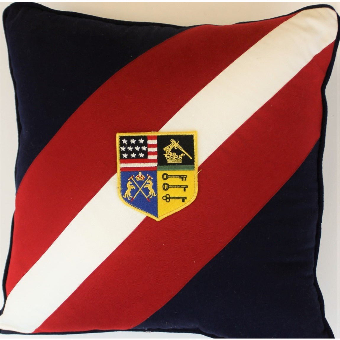 U.S. Polo Crest Pillow