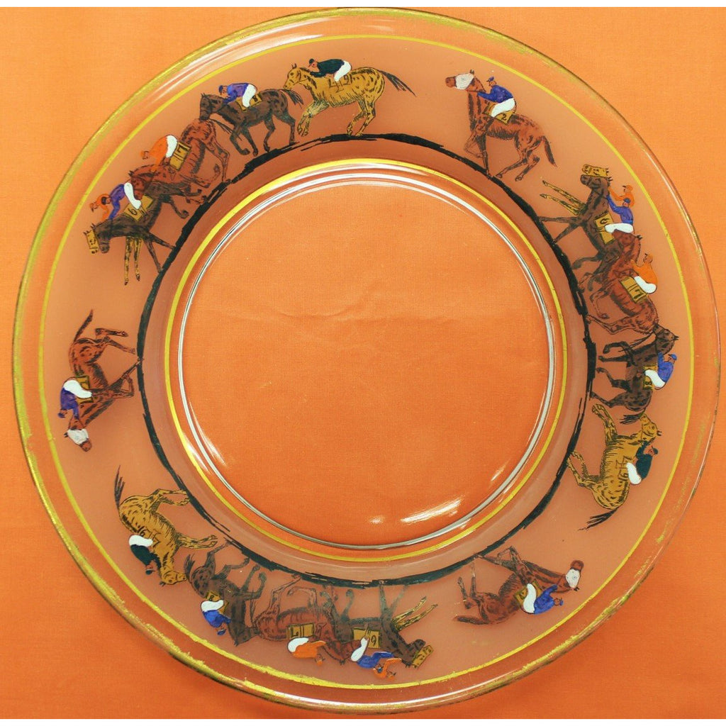sc 1 st  The Cary Collection & Set of (12) u0027Jockey on Race Horseu0027 Dinner Plates