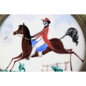 Jockey on Race Horse Coaster