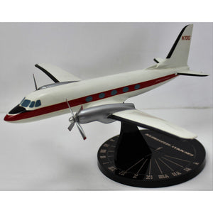 "Grumman Gulfstream ""N70IG"" Private Twin Engine Propeller Model Plane"