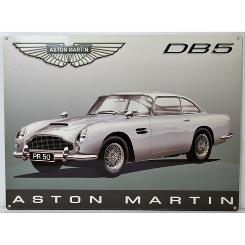 """Aston Martin DB5 Plaque"""