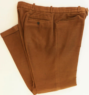 "Holland & Holland Tobacco Moleskin Trousers Sz: 36""W"