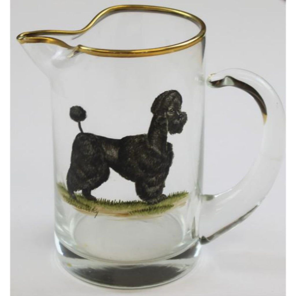 Abercrombie & Fitch Poodle Pitcher by Frank Vosmansky (SOLD)