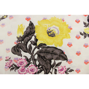 Cecil Beaton Floral Fabric