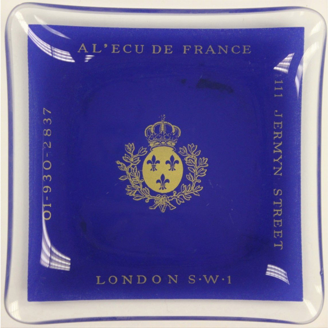Al' Ecu De France London SW1 Ashtray