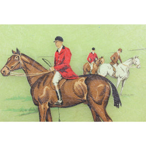 Fox Hunting Serving Tray