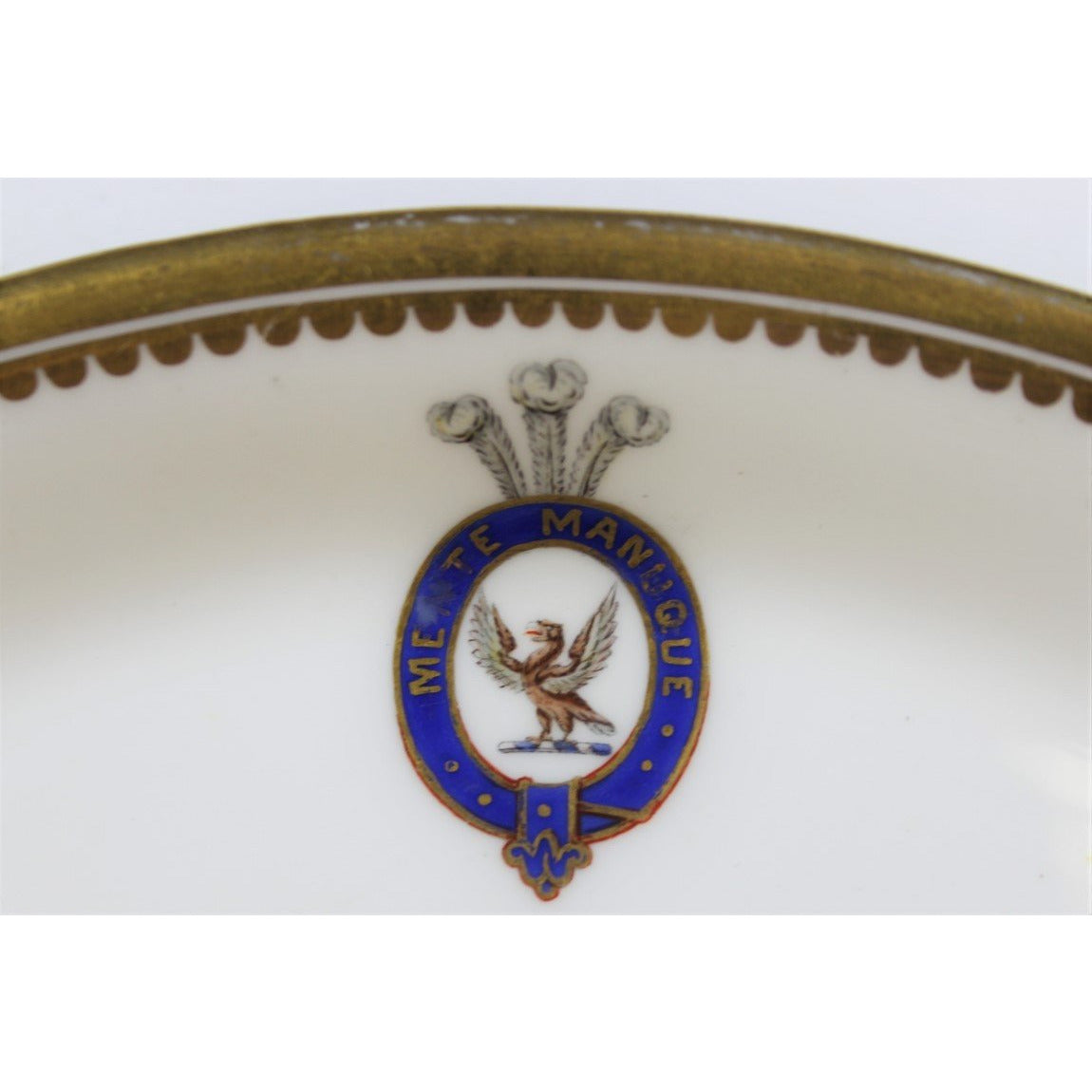 Armorial Spode China Tray