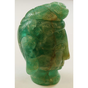 Chinese Jade Buddha Head