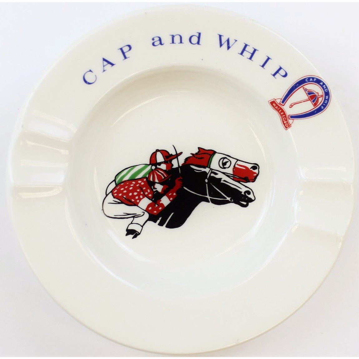 Cap and Whip Ashtray