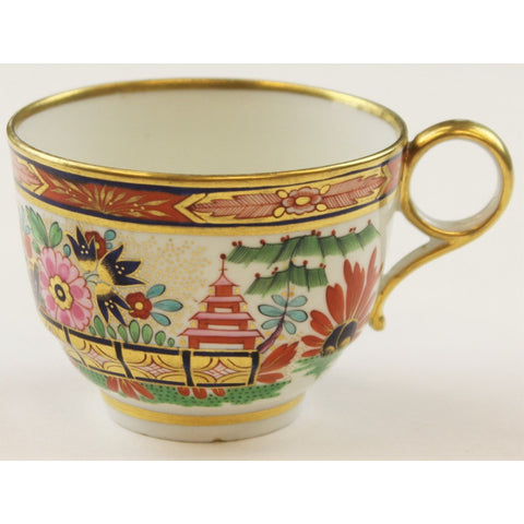 Gilt Chinoiserie Teacup