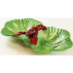 Brad Keeler Twin Lobster Ceramic Platter #1