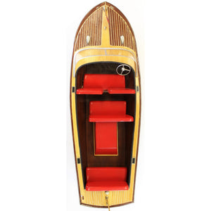 1956 Chris-Craft Continental Runner Boat Model