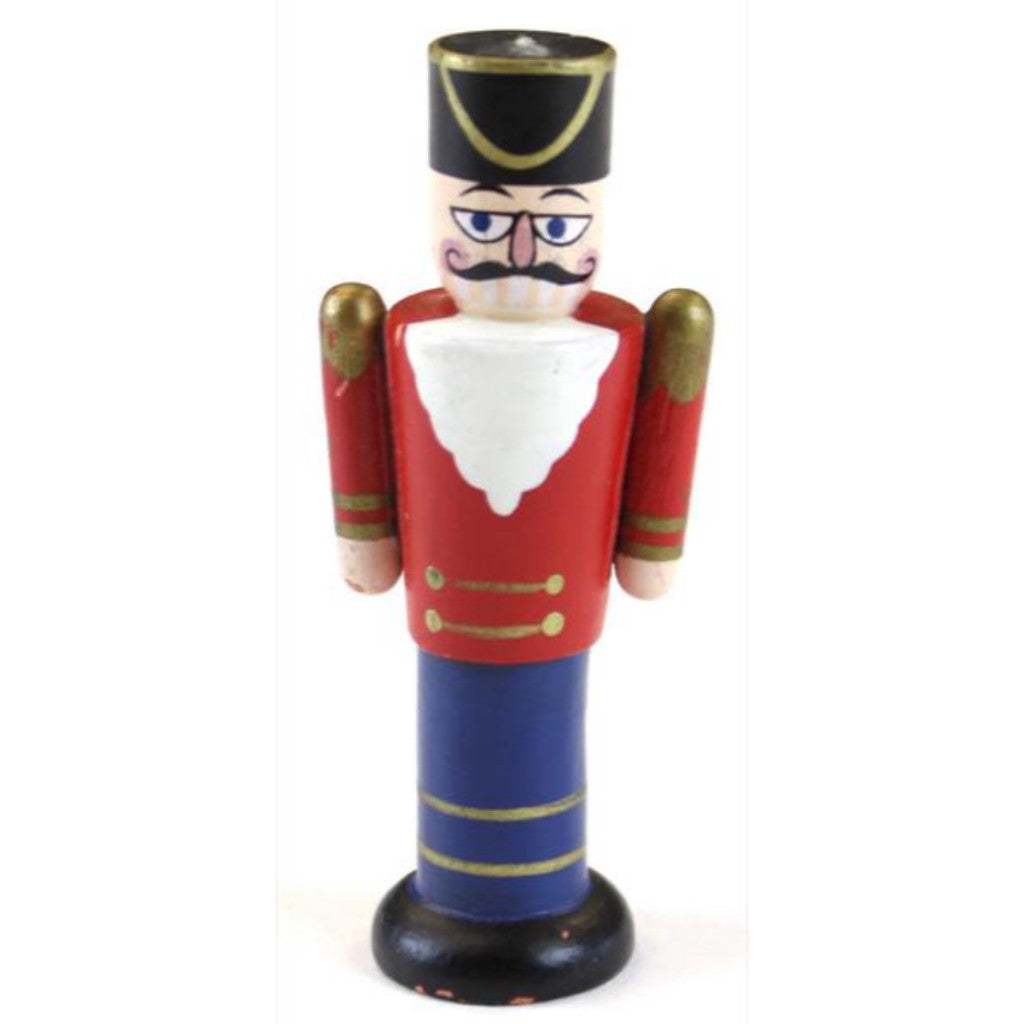 Wooden Officer Xmas Ornament