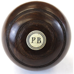 Paul Desmond Brown (P.B.) Jaques & Son Lawn Bowling Ball