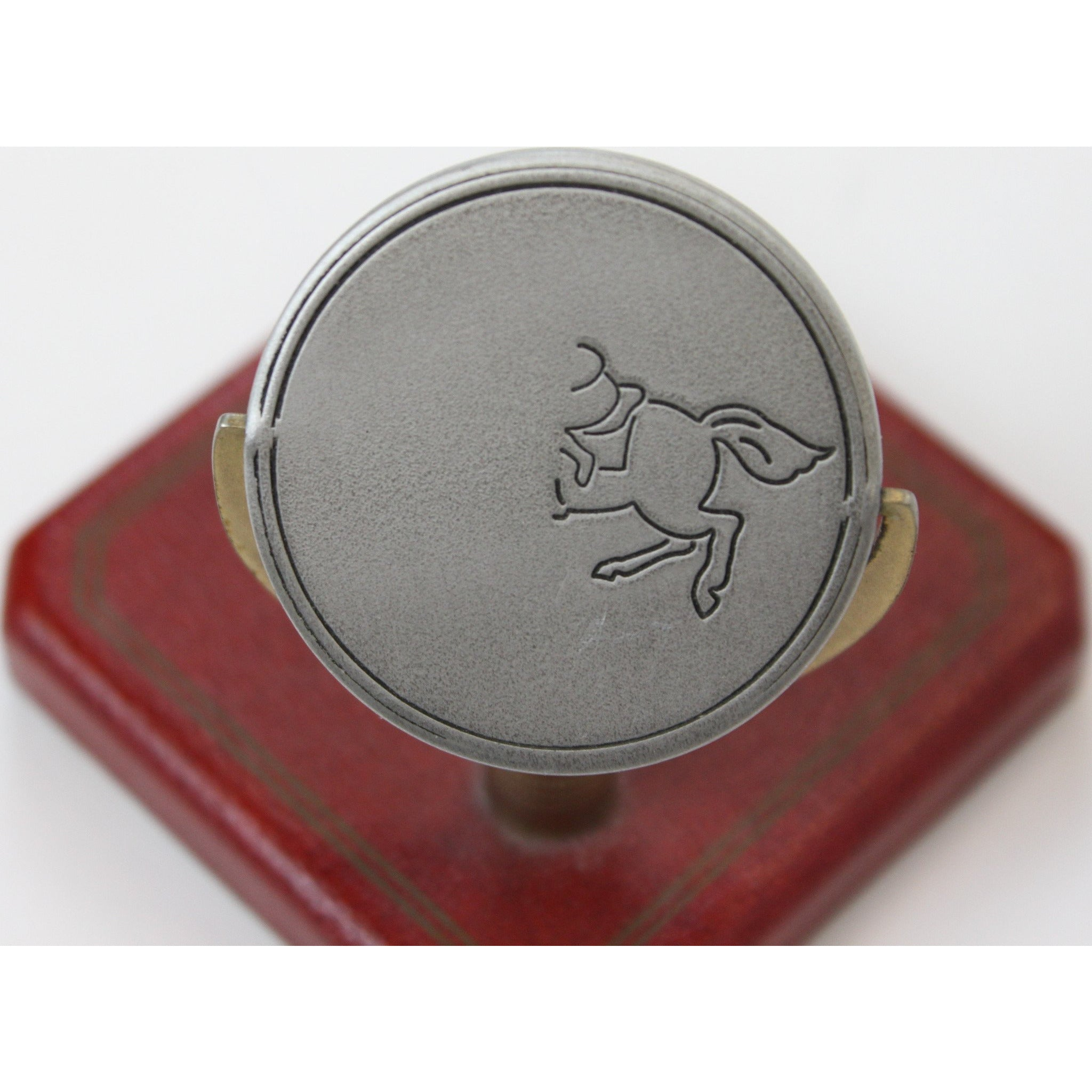 Decisions x3 Horse Head/ Tail Coin c 1940's Spinner'
