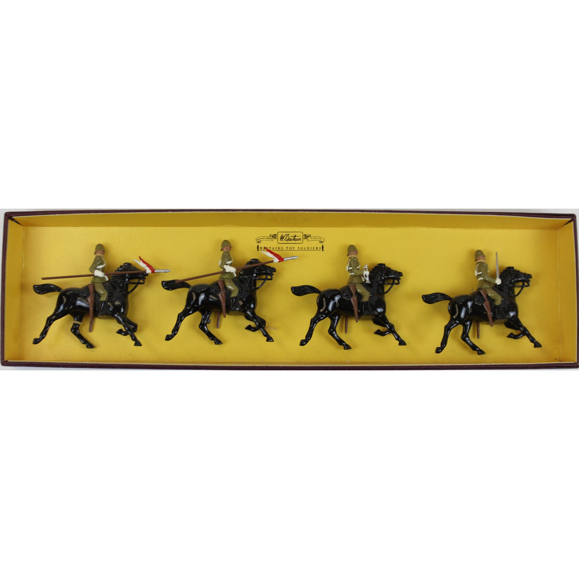 Britains The Empress of India's 21st Lancers Cavalry Officers