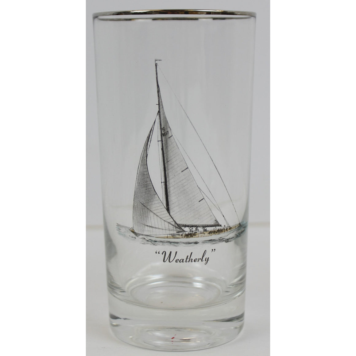 Set of 9 America's Cup Highball Glasses