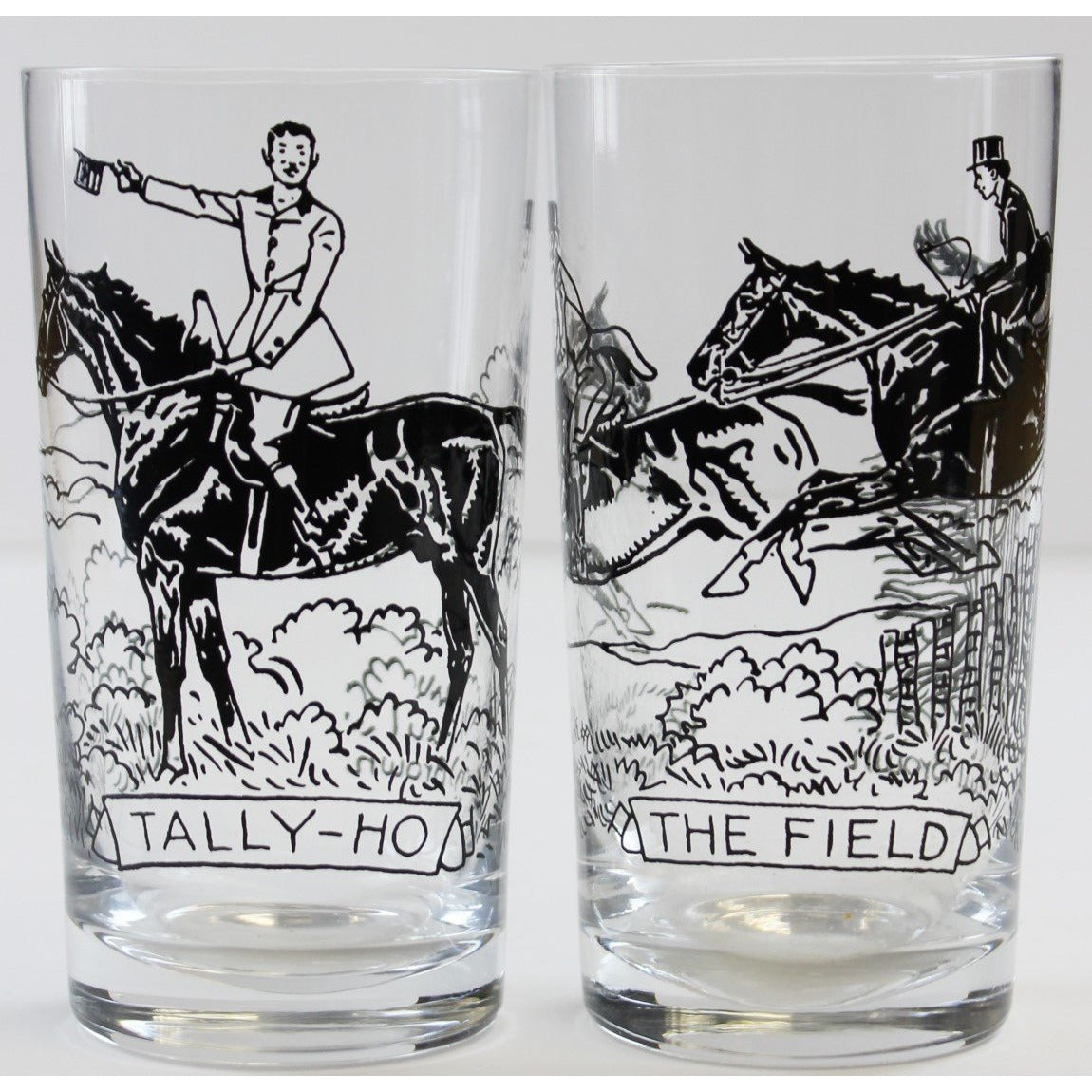 Paul Desmond Brown Tally Ho & The Field Highball Glasses