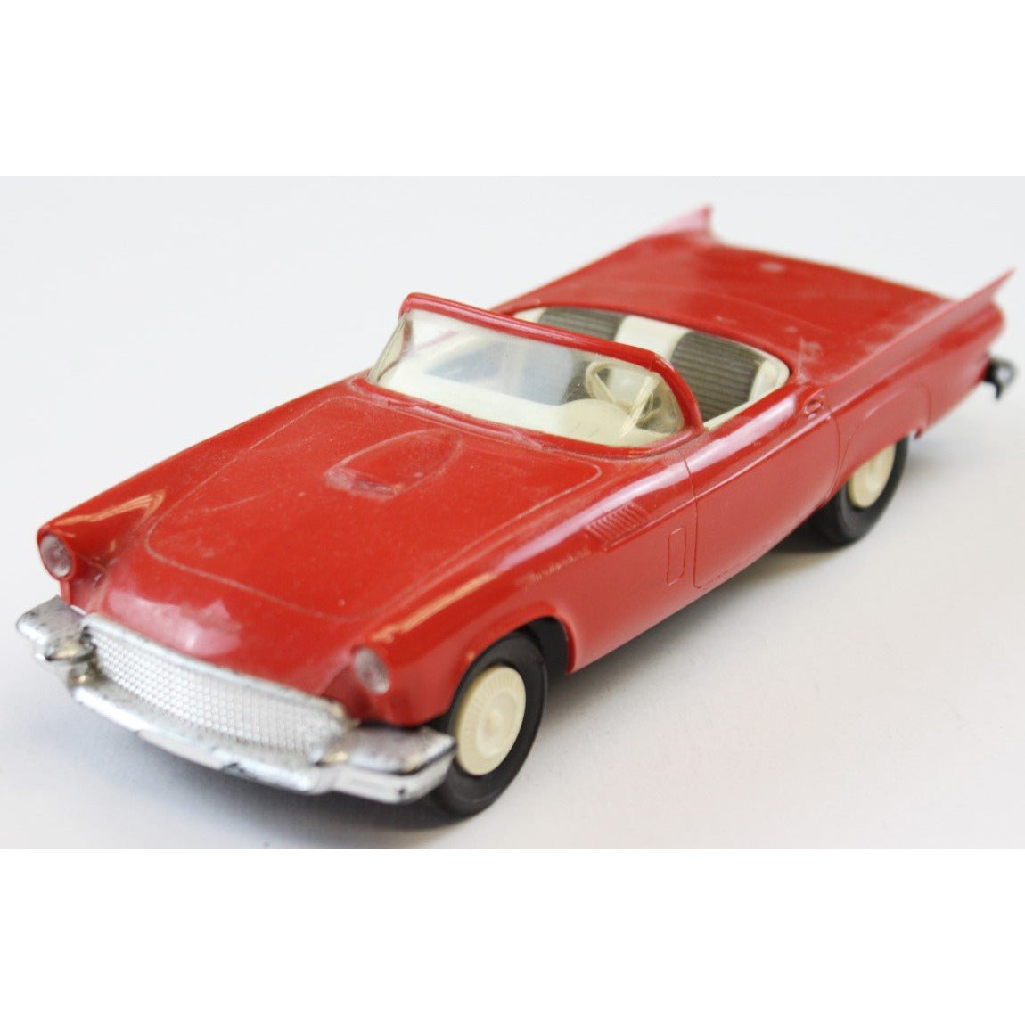 1957 Ford Red Thunderbird Convertible