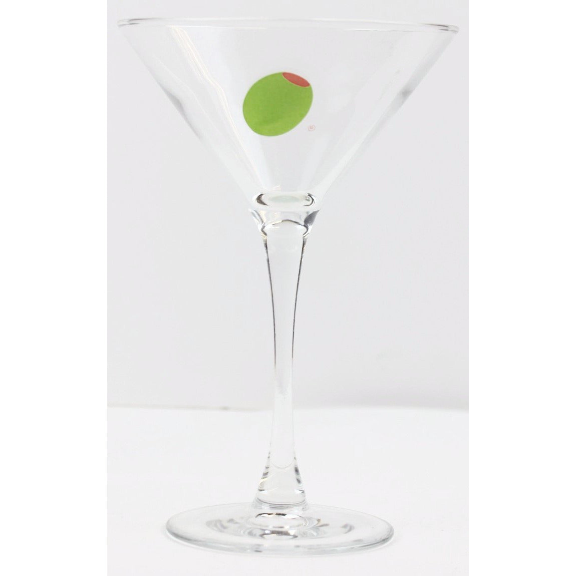 Olive Martini Glass