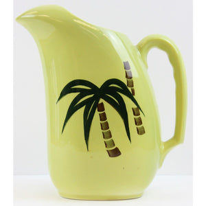 Tahiti 'Palm' Pitcher by Continental Kilns