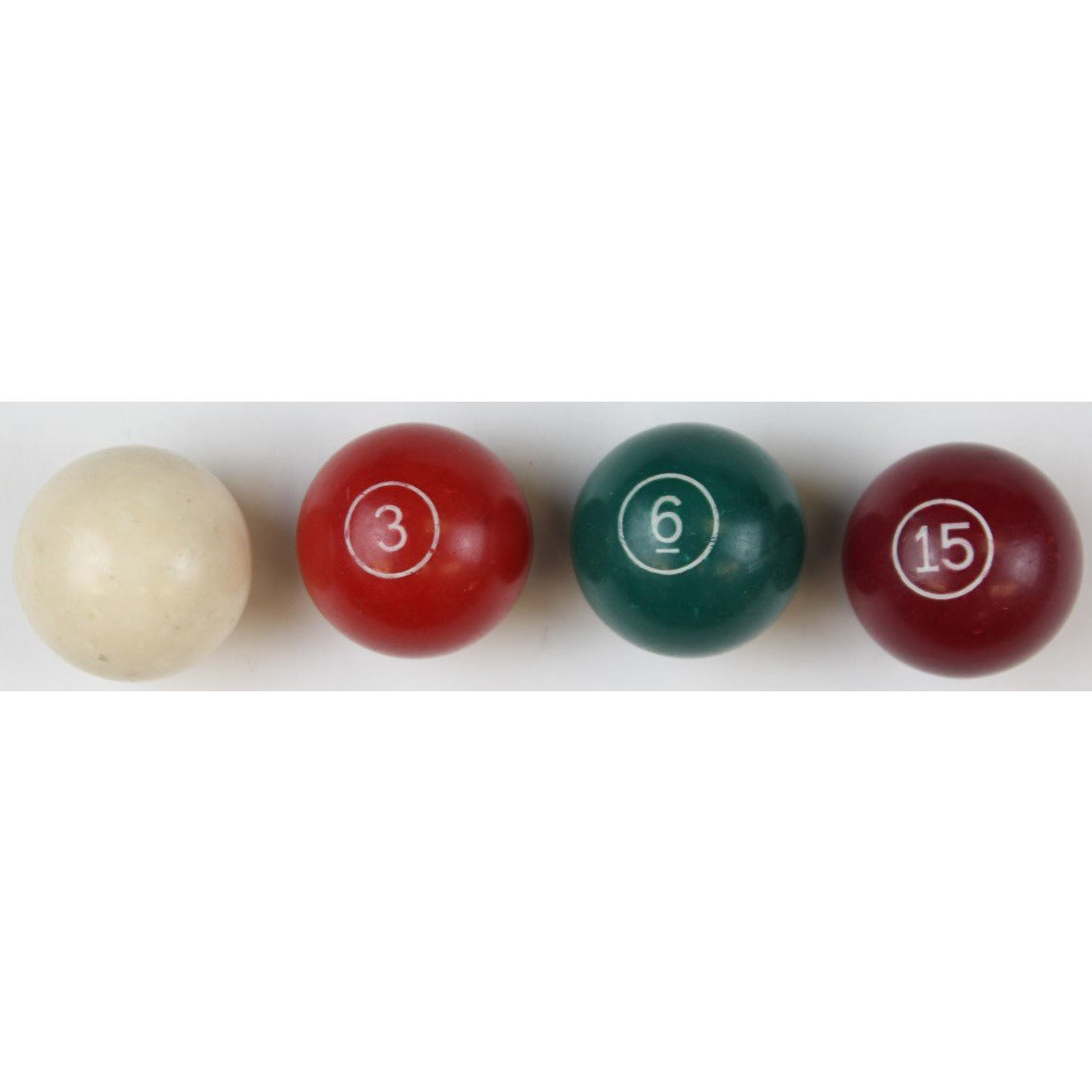 Set of 4 Snooker Billiard Balls