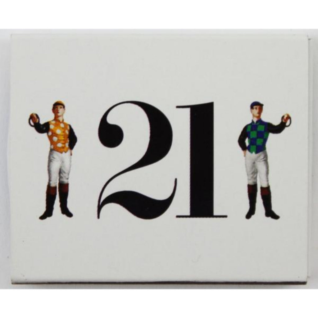 """21"" Club Matchbook (New!)"