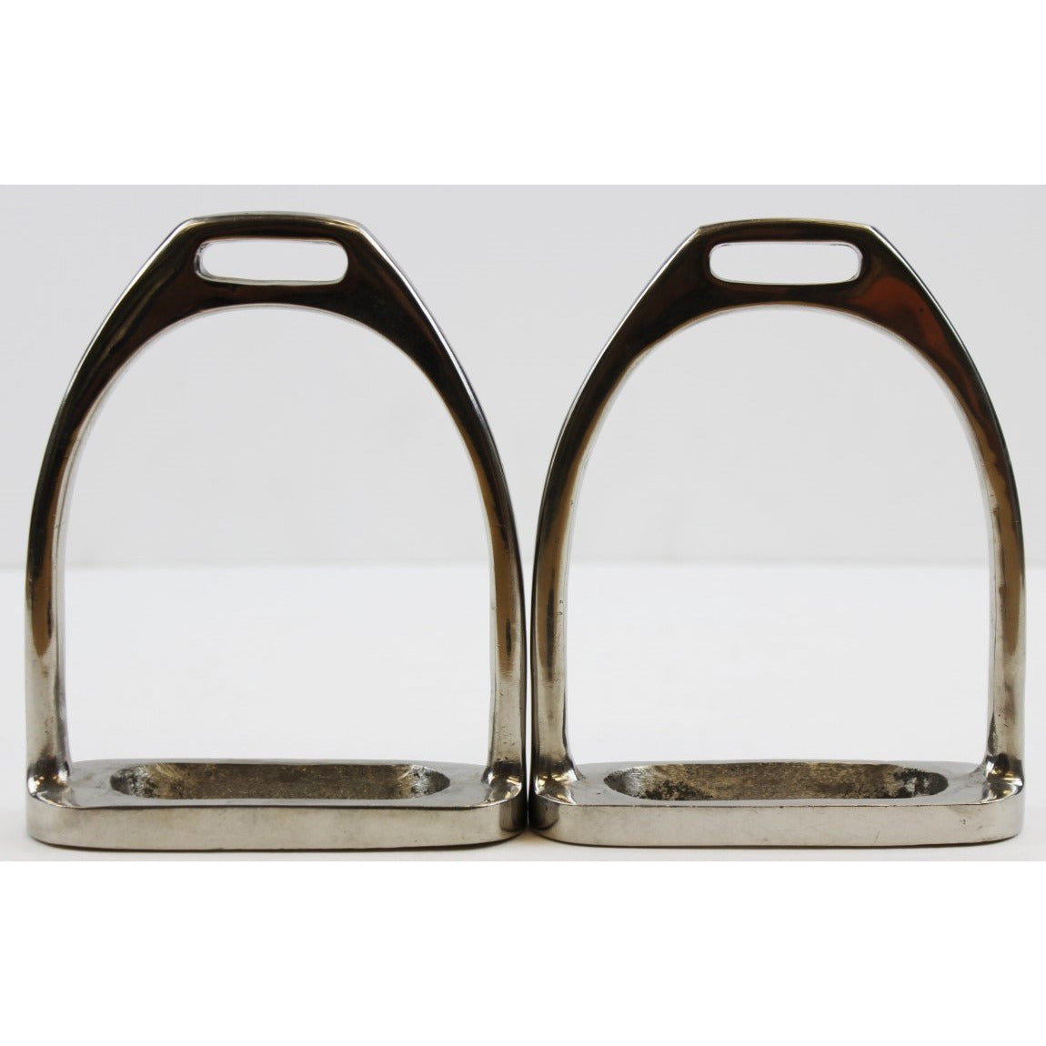 "2nd Pair of Silver Horse 4 1/4"" Stirrups"