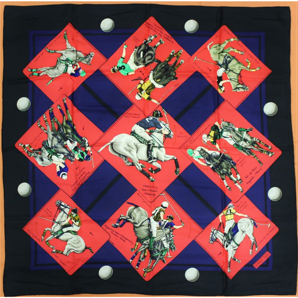 Hermes of Paris Polo Scarf