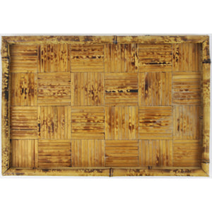 Bamboo Tiki Serving Tray