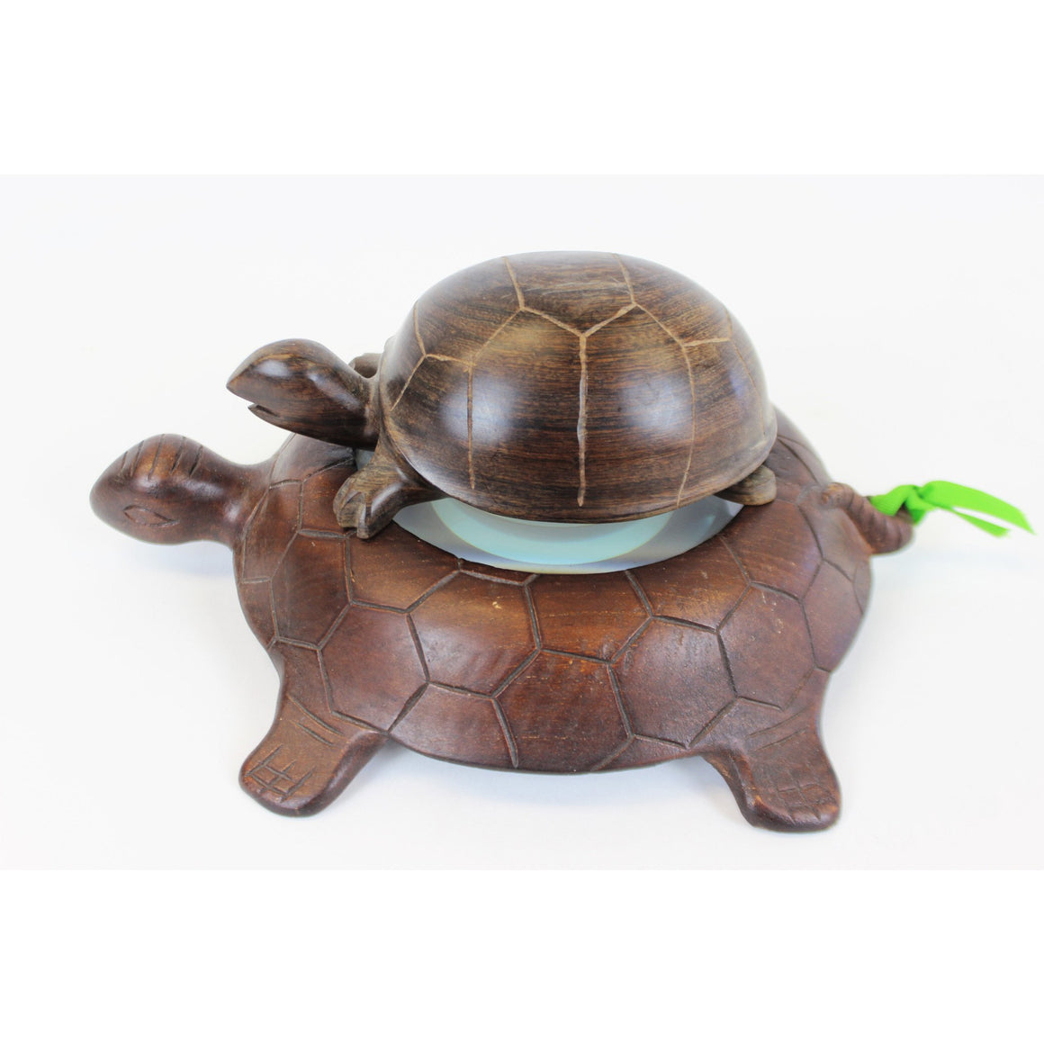 Nesting 2 Turtles w/ Inset Magnifying Glass