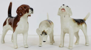 Set of 3 Beswick England Hounds