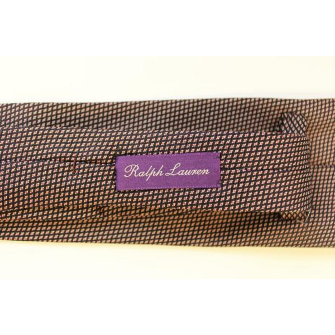 'Ralph Lauren Purple Label Navy Twill Tie'