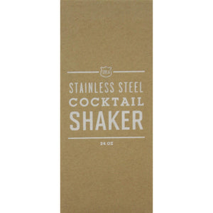 Stainless Steel Cocktail 24oz Boxed Shaker