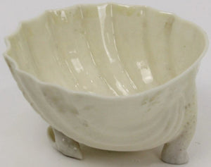 Belleek Irish Creamware Tri-Shell Bowl