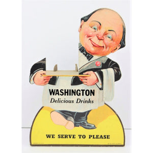 Washington Delicious Drinks Cardboard Stand