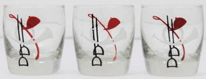Set of 3 Fox Hunt Shot Glasses