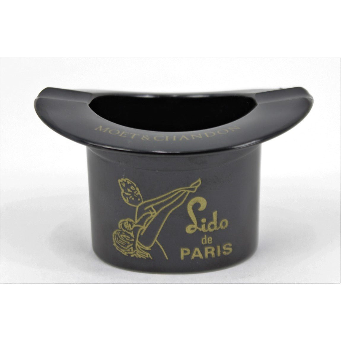 Lido de Paris Moet & Chandon Black Bakelite Tophat