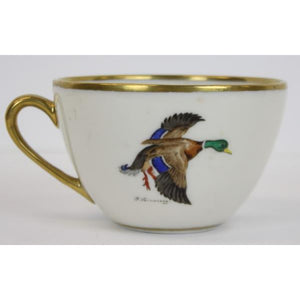 'Abercrombie & Fitch Andover China 'Mallard' Cup by Frank Vosmansky'
