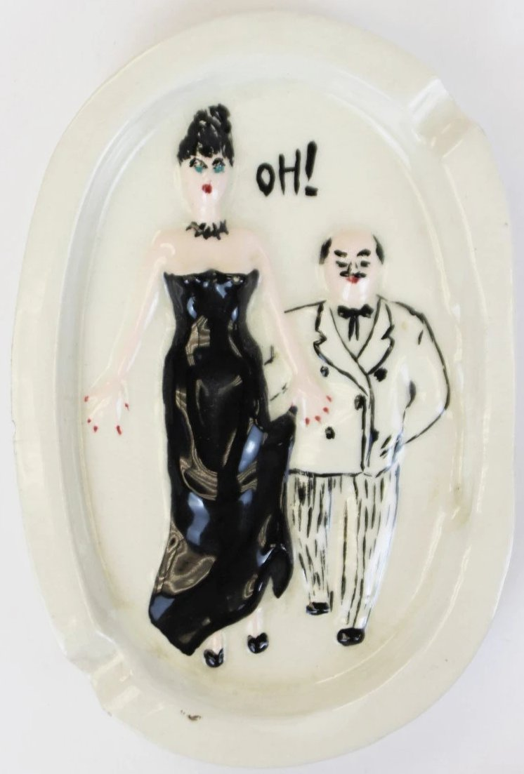 Oh! French Ceramic Ashtray