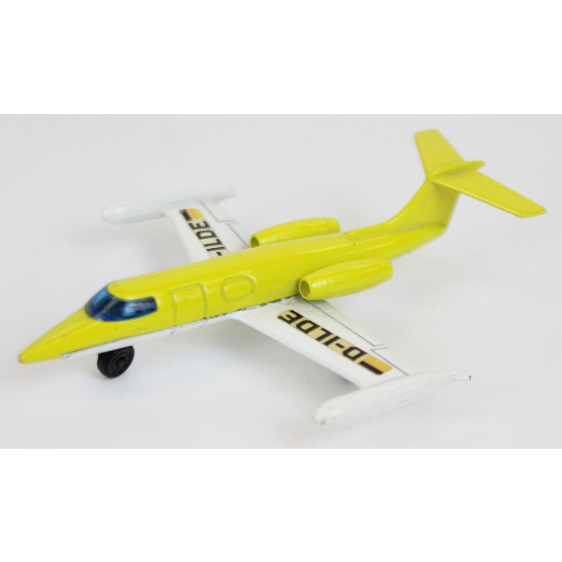 Matchbook LearJet Metal Toy
