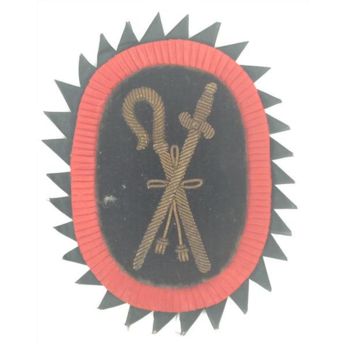 'Gilt Bullion Blazer Crest'