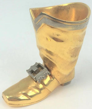 Brass Boot w/ Silver Buckle