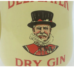 Beefeater Dry Gin Wade English China Pitcher